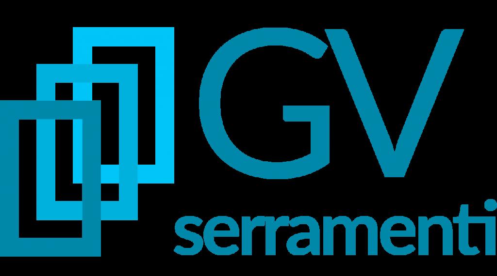 Il logo di GV Serramenti