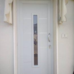 Una porta blindata